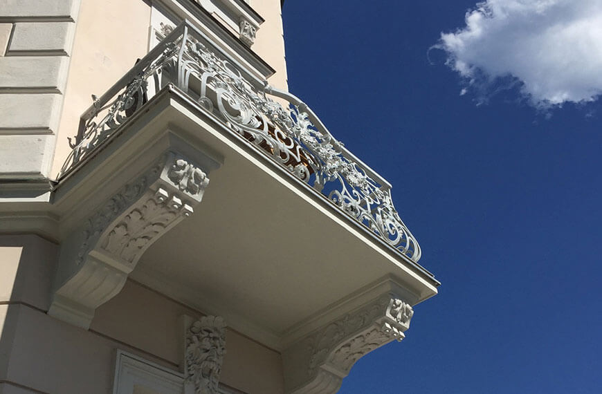 Balkonsanierung inklusive Metallanstrich
