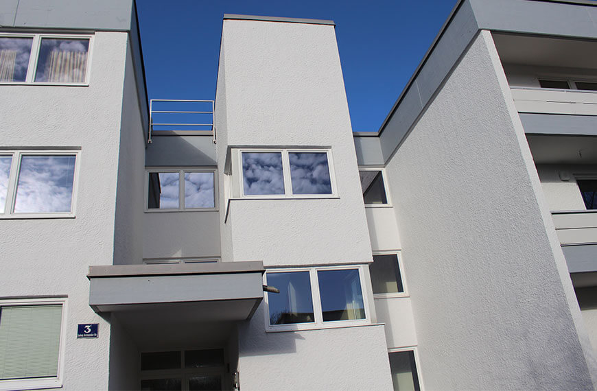Fassade und Balkonsanierung Durchner