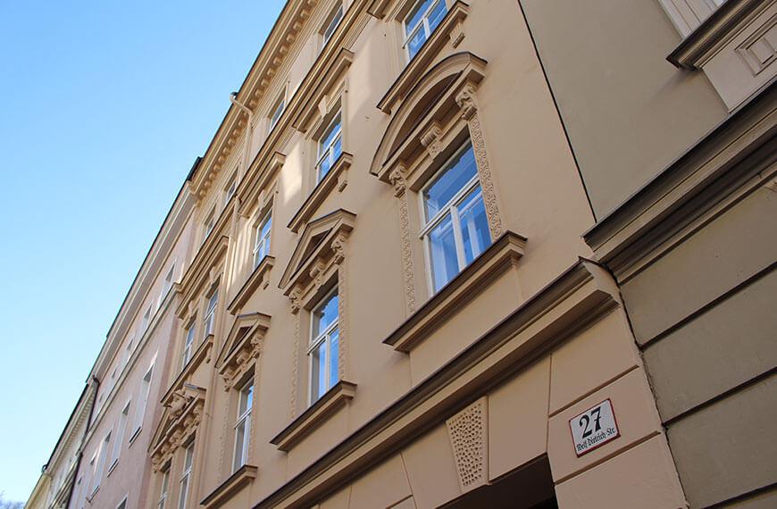 Historisches Fassadensanierung Historisches Gebäude Salzburg-Altstadt Durchner