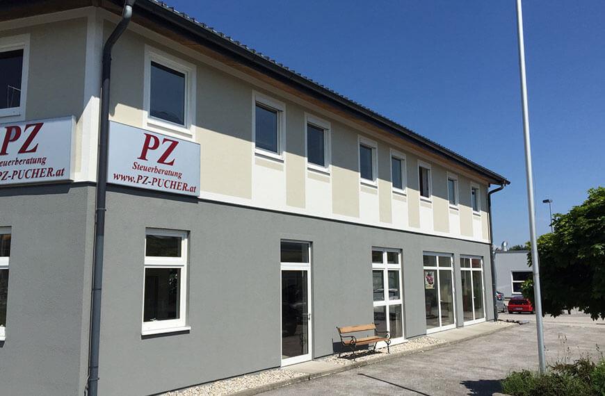 Fassadensanierung Bürogebäude Elixhausen Durchner