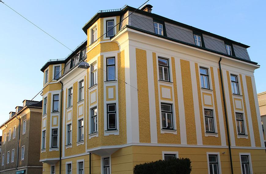 Fassadensanierung Privatgebäude Salzburg-Itzling Durchner