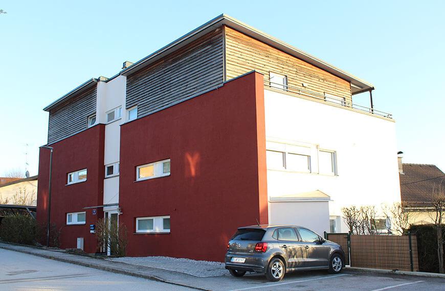 Fassadensanierung Mehrparteienhaus Salzburg-Itzling Durchner