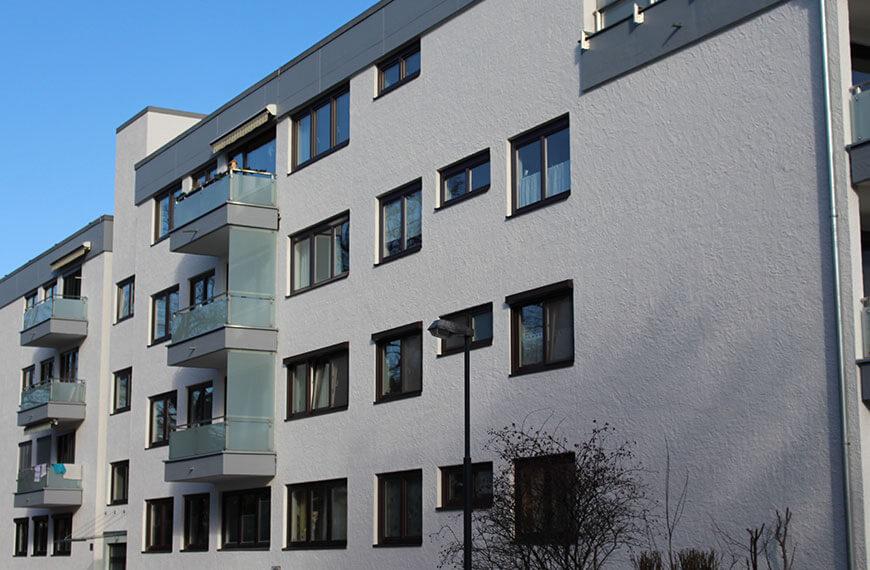 Fassadensanierung und Gerüstung Salzburg-Aigen Durchner