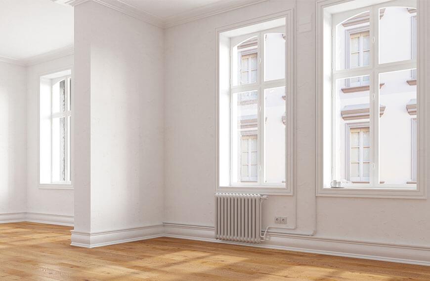 Wohnzimmer Farbe weiß